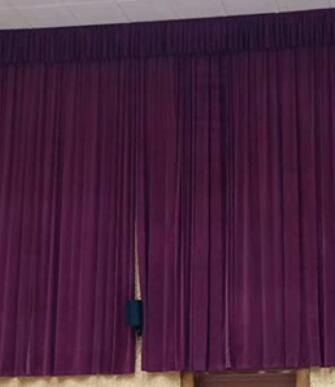 贵阳电动开合窗帘